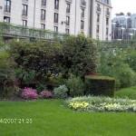 Градински площи