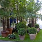 Градина пред кафене