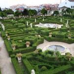 Градината на замъка бланко