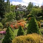Градина на наклон